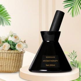 XINFULUO Parfum Ruangan Aroma Diffuser Reed Rattan Sticks Freesia 200ml - XL913 - Black