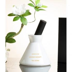 XINFULUO Parfum Ruangan Aroma Diffuser Reed Rattan Sticks Gardenia 200ml - XL913 - White