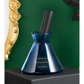 XINFULUO Parfum Ruangan Aroma Diffuser Reed Rattan Sticks Blue Ocean 200ml - XL913 - Blue