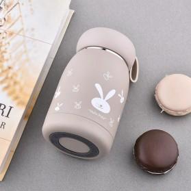 Mignon Botol Minum Tumbler Thermos Lucu Stainless Steel 320ml - LMYW-005 - Coffee
