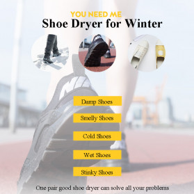 FLoved Lucog Pengering Sepatu Elektrik Portable Shoe Dryer 20W 220V - SD29 - Yellow - 6
