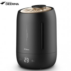 Xiaomi DEERMA Air Humidifier Ultrasonic Large Capacity 5L Touch Screen Version - F600 - Black
