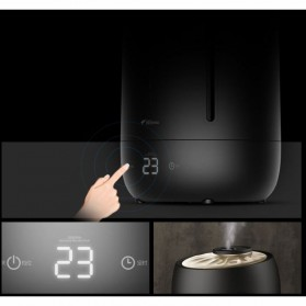 Xiaomi DEERMA Air Humidifier Ultrasonic Large Capacity 5L Touch Screen Version - F600 - Black - 6