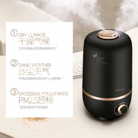 Xiaomi DEERMA Air Humidifier Ultrasonic Aromatherapy Oil Diffuser Large Capacity 4L - F450 - White - 11