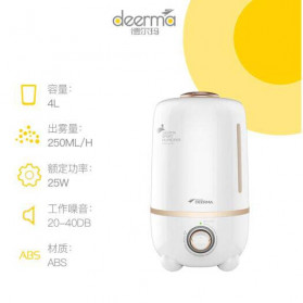 Xiaomi DEERMA Air Humidifier Ultrasonic Aromatherapy Oil Diffuser Large Capacity 4L - F450 - White - 3