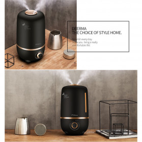 Xiaomi DEERMA Air Humidifier Ultrasonic Aromatherapy Oil Diffuser Large Capacity 4L - F450 - White - 7
