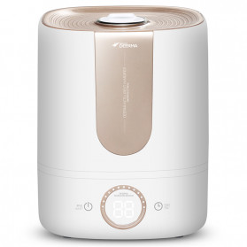 Xiaomi DEERMA Air Humidifier Ultrasonic Aromatherapy Oil Diffuser Large Capacity 5L - DEM-F535 - White