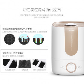 Xiaomi DEERMA Air Humidifier Ultrasonic Aromatherapy Oil Diffuser Large Capacity 5L - DEM-F535 - White - 10