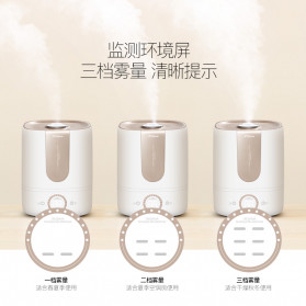 Xiaomi DEERMA Air Humidifier Ultrasonic Aromatherapy Oil Diffuser Large Capacity 5L - DEM-F535 - White - 2