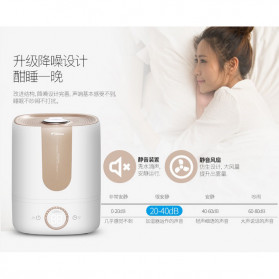 Xiaomi DEERMA Air Humidifier Ultrasonic Aromatherapy Oil Diffuser Large Capacity 5L - DEM-F535 - White - 6