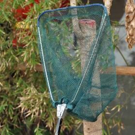Lixada Serokan Jaring Ikan Telescopic Fishing Net Pole Aluminium 190 CM - DJ00296 - Black - 6