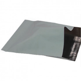 TaffPACK Kantong Amplop Plastik Packing Polymailer Polybag Doff 60 Micron 25x39cm 100 PCS - Gray - 4