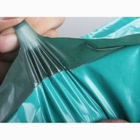 TaffPACK Kantong Amplop Plastik Packing Polymailer Polybag Doff 60 Micron 25x39cm 100 PCS - Green - 5