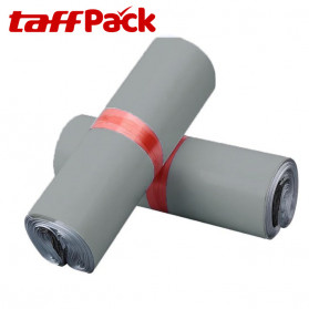 TaffPACK Kantong Amplop Plastik Packing Polymailer Polybag Doff 60 Micron 28x42cm 100 PCS - Gray - 2