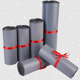 TaffPACK Kantong Amplop Plastik Packing Polymailer Polybag Doff 60 Micron 28x42cm 100 PCS - Gray - 3
