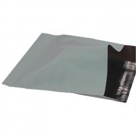 TaffPACK Kantong Amplop Plastik Packing Polymailer Polybag Doff 60 Micron 28x42cm 100 PCS - Gray - 4