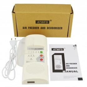 ATWFS Air Freshener Ozonizer Purifier Deodorizer Filter Disinfection Clean Room - White - 10