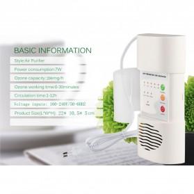 ATWFS Air Freshener Ozonizer Purifier Deodorizer Filter Disinfection Clean Room - White - 7