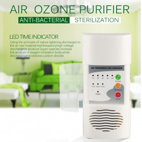 ATWFS Air Freshener Ozonizer Purifier Deodorizer Filter Disinfection Clean Room - White - 9