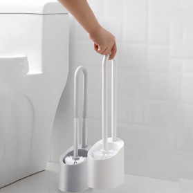 ONEUP Sikat Toilet WC Magnetic Handle Brush - YW48 - White - 1
