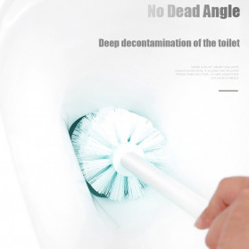 ONEUP Sikat Toilet WC Magnetic Handle Brush - YW48 - White - 6