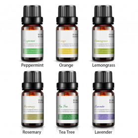KBAYBO Pure Essential Fragrance Oils Minyak Aromatherapy Diffusers 10ml 6 PCS - K-E2 - 3