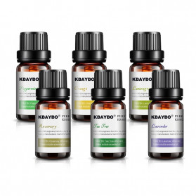 KBAYBO Pure Essential Fragrance Oils Minyak Aromatherapy Diffusers 10ml 6 PCS - K-E2 - 5