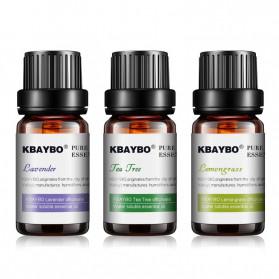KBAYBO Pure Essential Fragrance Oils Aromatherapy Diffusers 10ml 3 PCS - K-E2 - 2