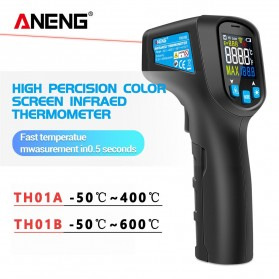 ANENG Thermometer Infrared IR Digital Non Contact - TH01B - Black
