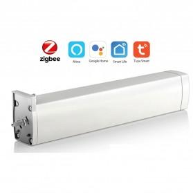 Zigbee Tuya Smart Curtain Motor Penutup Gorden Otomatis - CMD850E - White