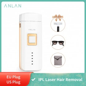 ANLAN TMY02 IPL Laser Epilator Permanent Hair Removal 500000 Flashes - ALTMY02-EU02 - White