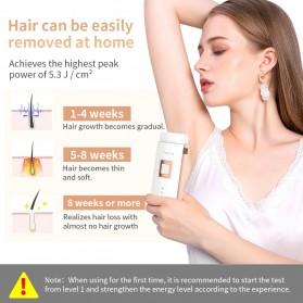 ANLAN TMY02 IPL Laser Epilator Permanent Hair Removal 500000 Flashes - ALTMY02-EU02 - White - 4