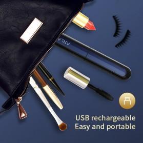 ANLAN Pelentik Bulu Mata Elektrik Eyelash Curler USB Rechargeable - ALJMJ01-01 - Black - 8