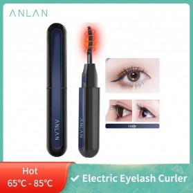 ANLAN Pelentik Bulu Mata Elektrik Eyelash Curler USB Rechargeable - ALJMJ01-01 - Black