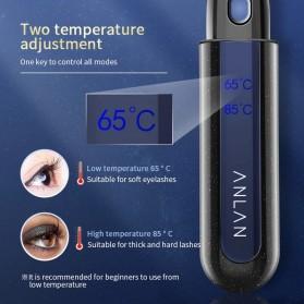 ANLAN Pelentik Bulu Mata Elektrik Eyelash Curler USB Rechargeable - ALJMJ01-01 - Black - 3
