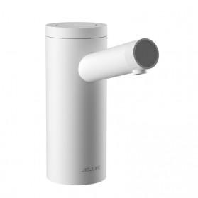 Pompa Galon Manual & Pompa Galon Elektrik - JISULIFE Pompa Air Galon Water Pump Rechargeable USB Touch Switch 1800mAh - PU01 - White