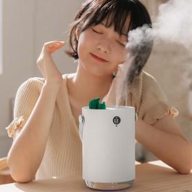 Sothing Air Humidifier Pelembab Udara Humidity Desain Kaktus 1L - H1 - White