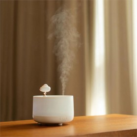 Sothing Music Air Humidifier Aromatherapy Oil Diffuser Night Light Spirited Away 260ML - DSHJ-S-2001 - White