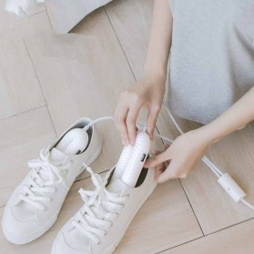Sothing Shoes Dryer Pengering Sepatu UV Sterilizer Timming Retractable 220V with Controller - DSHJ-S-1904 - White