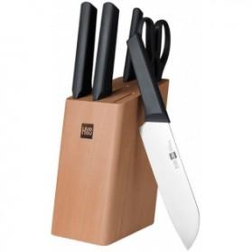 Huohou Set Pisau Dapur Kitchen Knife 6 in 1 - HU0057