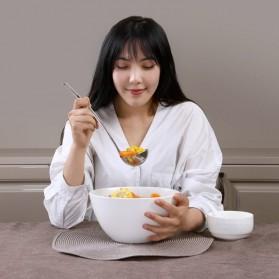 Huohou Sendok Kuah Sup 3 in 1 Oil Water Soup Separation Spoon - HU0055 - Silver - 4