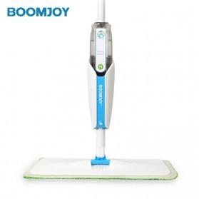BOOMJOY Alat Kain Pel Penyemprot Air Water Spray Sweeper Floor Flat Mop - FP-10KJ - White