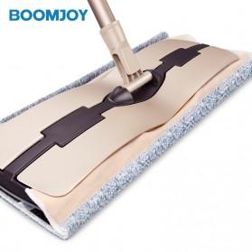 Yijie Alat Pel Datar Floor Flat Mop Stainless Steel - FC-57 - Brown