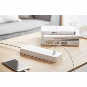 Xiaomi Mi Smart Power Strip 4 Plug dengan 3 USB Port 2A - White - 8