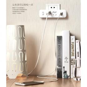 Xiaomi Mi Smart Power Strip 2 Plug dengan 2 USB Port 2A - White - 4