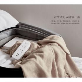 Xiaomi Mi Smart Power Strip 2 Plug dengan 2 USB Port 2A - White - 5