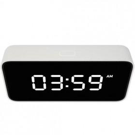 Xiaomi Xiao Ai Jam Meja Small Love Smart Alarm Clock - AI01ZM - White - 3