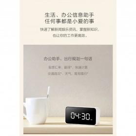 Xiaomi Xiao Ai Jam Meja Small Love Smart Alarm Clock - AI01ZM - White - 6