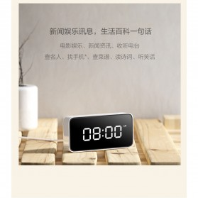 Xiaomi Xiao Ai Jam Meja Small Love Smart Alarm Clock - AI01ZM - White - 7