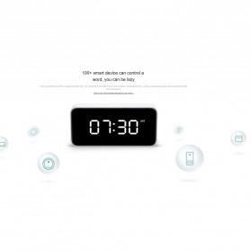 Xiaomi Xiao Ai Jam Meja Small Love Smart Alarm Clock - AI01ZM - White - 9